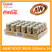 AW Root Beer  (330ml x 24)