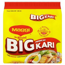 Maggi 2 Minute BIG Curry/Chicken Instant Noodles 5 x 111g