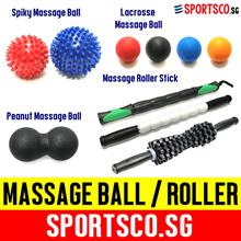 ⏰⚡ FREE Shipping ⚡ Lacrosse ☘ Spiky ☘ Peanut Massage Ball ☘ Massage Roller Stick ☘