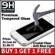 ★Explosion Proof Tempered Glass Screen Protector★iPhone 5/5S/6/6S/6Plus/6S Plus★iPad Air/Mini/Pro★Samsung Note3/4/5/S4/5/6/7 ★ Anti Blue Light★ Privacy Tempered Glass★