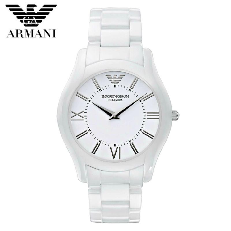 【クリックで詳細表示】EMPORIO ARMANI エンポリオ アルマーニ AR1442 腕時計 レディース用 メンズ用 セラミック ユニセックス 新品 超特価 時計 送料無料 正規輸入品
