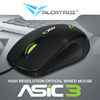 High Resolution 1000CPI wired Mouse| Asic 3| 2 years warranty