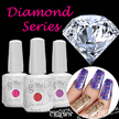 ★NEW! Diamond Series! ★ Crown Gelish Gel Nail Polish Over 500 Colors! ★ Long wear up to 30days!