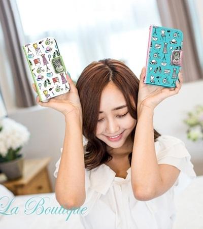 【iPhone/Galaxy/Galaxy Note ケース】Tongkeun Pocket The La Boutique Diary( ダイアリータイプ ケース)レビューを書いてネコポス送料無料の画像