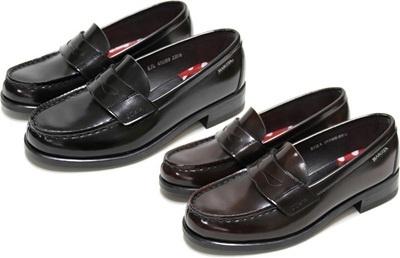 (B倉庫)HARUTA ハルタ 45089 ディズニーコレクション レディス ローファー 通学 学生 靴 3E【送料無料】【smtb-TK】の画像