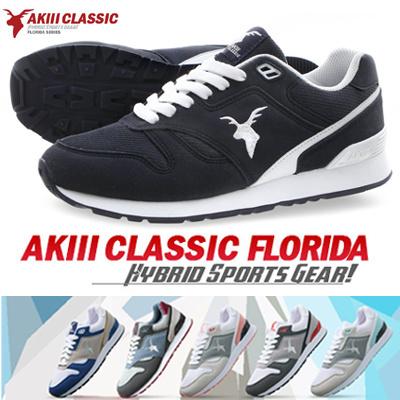 送料無料◆ AkiiiClassic FLORIDA series スニーカー/ランニングシューズスポーツシューズ パンプス靴 k