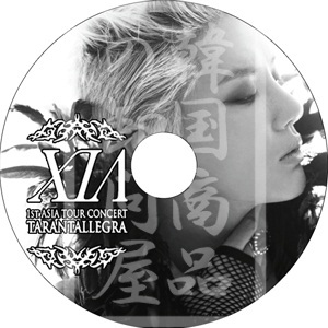 XIA 1st ASIA TOUR CONCERT TARANTALLEGRA 2012 アジアツアーコンサート / ジェジュン ジュンス ユチョン シアジュンス JUNSUの画像