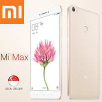 Xiaomi Mi Max Smart Mobile Phone / Tablet / 6.4inch Display / 16MP Rear camera / 5MP Front Camera / Android 6.0 / 3GB Ram / 32GB Rom / 6months Warranty [Export Set]