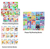 Kumon 2-4y FIRST STEPSERIES(Colouring/Maths/English/Writing/Cutting) 12 Books Set Reading with Phonics 10 Books Set FairyTale Collection ✔ Peppa Pig Set of 20 Books