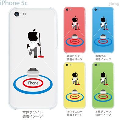 【iPhone5c】【iPhone5c ケース】【iPhone5c カバー】【ケース】【カバー】【スマホケース】【クリアケース】【クリアーアーツ】【カーリング】 10-ip5c-ca0090の画像