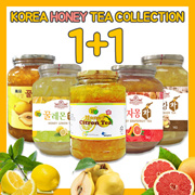 In Singpore★Korean Honey Cirton Tea★1kg Big Size/Korean Food/Korean Drink/Korean Tea/Yuzu/Yujacha/Grapefruit Tea/Lemon Tea/Ginger Tea/Quince Tea 1+1 ice tea
