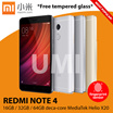 Ready Stock! [XIAOMI] REDMI NOTE 4 ★16GB/64GB★ deca-core MediaTek Helio X20 ★ 2GB/3GBRAM/5.0MP front camera/13MP back camera 4G/GPS/WiFi/Bluetooth(Export set/1 month warranty)★ COMES WITH GLOBAL ROM ★