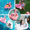 Inflatable Swimming Swan/ Flamingo Swim Float for Babies Infants Toddlers Kids Swimming Ring Accessories/Christmas Gift