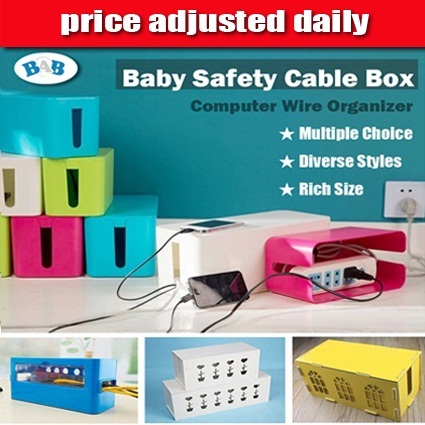 Baby Safety Cable Box Computer Wire Organizer Management Storage System Children Infant Safety Deals for only S$9.7 instead of S$0