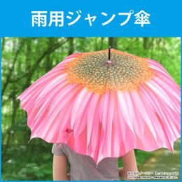 ジャンプ雨傘 傘 雨傘 ジャンプ傘 軽量 ジャンプ式 8本骨 開傘時直径 100cm 長傘 アンブレラ カサ かさ unbrella レディース おしゃれ ER-UMFLW[宅配便配送][送料無料]