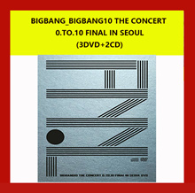 BIGBANG_BIGBANG10 THE CONCERT 0.TO.10 FINAL IN SEOUL (3DVD+2CD) BOX 字幕:英語、日本語、中国語、韓国語 6月5日に発送する予定です