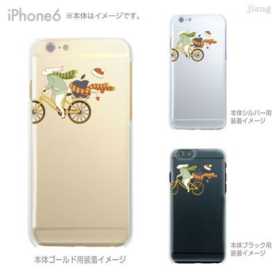 iPhone6 4.7 inch iphone ハードケース Clear Arts ケース カバー スマホケース クリアケース かわいい おしゃれ 着せ替え イラスト ピーターラビット 01-ip6-ca0154の画像