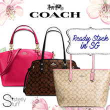 COACH-READY STOCK IN SG- SALE-100% AUTHENTIC