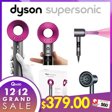 12.12Sale only price! Freeshipping from HK !Dyson Supersonic HD01 Hair Dryer - Fuchsia★3 Speed Settings★4 Heat Settings