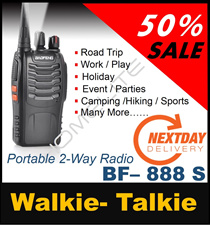 ♛[SALE] WALKIE TALKIE ★ SG Seller ★ Ready Stock ★ Fast Delivery ★ NO FRILLS JUST SAVE MORE!