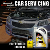 JS FULLY SYNTHETIC ENGINE OIL(FULLY SYNTHETIC )  + Oil Filter + Car Wash + Vacuum + 31 Point Check and Diagnostic Check. 5W40 / Engine Oil / 4L bottle / Car servicing