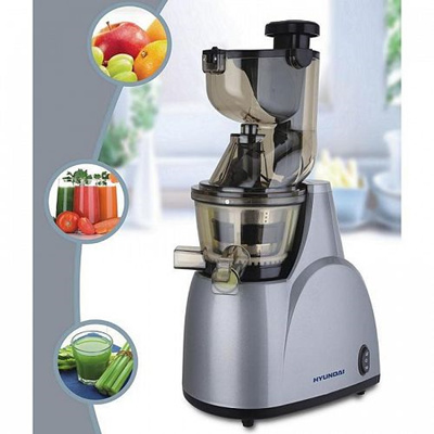 Hyundai Slow Juicer Hysj 7730 : Qoo10 - HYUNDAI HYSJ-7730 Hyundai Slow Juicer - Higher Juice Yield / Super Big... : Home Electronics