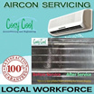 [Local Workforce] $30 Onwards |1 - 3  Units Aircon Servicing provided by Cosy Cool | Highly Recommended by Qoo10 users!