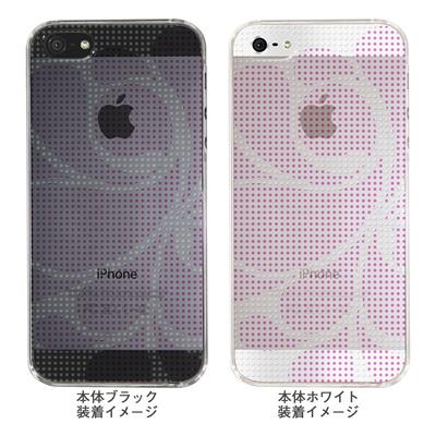 【iPhone5S】【iPhone5】【Clear Arts】【iPhone5Sケース】【iPhone5ケース】【ケース】【カバー】【スマホケース】【クリアケース】【チェック・ボーダー・ドット】【ドットレトロ】【ピンク】 06-ip5-ca0051i-pの画像