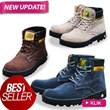 [BEST SELLER!!] NEW UPDATE! MEN SAFETY BOOTS**4_COLORS**HIGH QUALITY AND LOW PRICES**