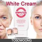 Brightning Your Skin! ★ [TOSOWOONG] Monster Cream The White / Whitening / Lightning cream / Anti-wrinkle cream / Bright skin