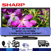 "SHARP 32"" HD READY LED TV • MODEL LC-32LE260M • 3 YEARS LOCAL SHARP WARRANTY"