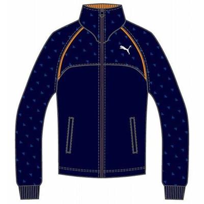 プーマ(PUMA) トレーニングジャケット 903663 02 ピーコート 【メンズ トレーニングウェア ランニング ジャージ】の画像