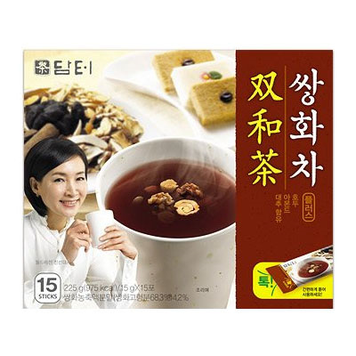 『ダムト』サンファ茶(15g×15包・粉末スティック状)[粉末茶][伝統茶][健康茶][韓国お茶][韓国飲料][韓国ドリンク][韓国食品][風邪予防対策]の画像