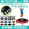 バネを使わない安心設計!!〚日本国内発送〛家庭用トランポリン 騒音とお子様への安全を考えたバンドスプリングタイプ!! 家庭で気軽に遊べる!!大人も使える102cmタイプ!!ダイエットにも効果的です!! trampoline