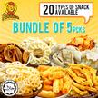 [FOODEE] Foodee Snacks Bundles of 5pkts [Halal]