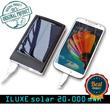 [NEW ILUXE] Original Powerbank solar tenaga matahari 5000 dan 20000 mah Real Capacity.