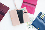 *BAGSTATION*Korean Fashion Iconic Faux Leather Multifunction Smart Phone Wallet/Pouch Iphone 5/5s/6/6+ Samsung S5/S6/Note3/Note4 (NEW ARRIVAL)