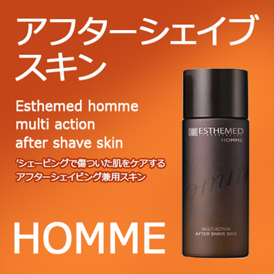 [ESTHEMED] オンム アフター シェイブ スキン/Esthemed homme multi action after shave skin  [正規日本販売契約提携店][韓国コスメ エステメド]★送料無料★の画像