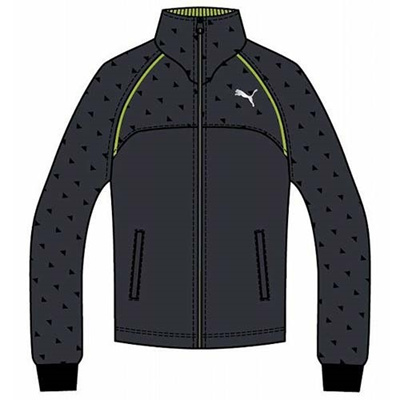 プーマ(PUMA) トレーニングジャケット 903663 03 エボニー 【メンズ トレーニングウェア ランニング ジャージ】の画像