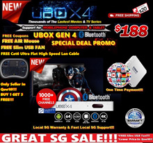 ♛★100% CHEAPEST IN Q0010+FREE SHIPPING★UNBLOCK UBOX GEN 4 Bluetooth PRO/Support for All Mobilephone!