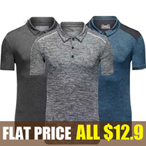★Only Qoo10 Special Offers ! ★ men short T-shirts / Hot Deal