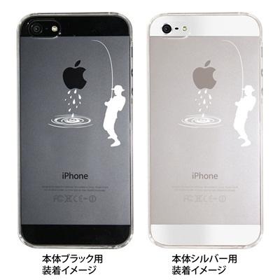 【iPhone5S】【iPhone5】【iPhone5ケース】【カバー】【スマホケース】【クリアケース】【釣り】 ip5-06-ca0016の画像