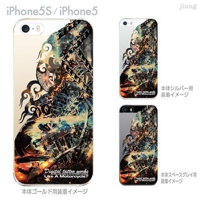 【iPhone5S】【iPhone5】【Clear Arts】【iPhone5ケース】【カバー】【スマホケース】【クリアケース】【Digital tattoo works】【アート】【タトゥー】 56-ip5s-sc0010の画像