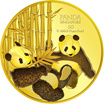 5g Giant Panda (SERIES 2) Gold Coin / 999.9 Pure Gold / Singapore Made Gold Coin / Premium Gifts / Collections / Souvenirs