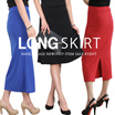 Korean Fashion  [All are flat Price!]★Banding Long Skirts   /MIDI SKIRT/Flare Skirt/Long Skirt/Cotton skirt/
