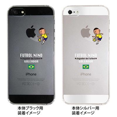【ブラジル】【iPhone5S】【iPhone5】【サッカー】【iPhone5ケース】【カバー】【スマホケース】【クリアケース】 ip5-10-f-ca-bz01の画像