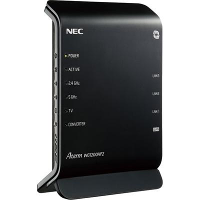 PA-WG1200HP2NEC11ac対応無線LANルーター親機(867300Mbps)AtermWG1200HP2