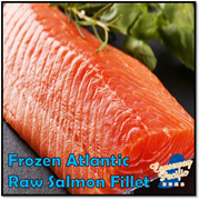 [CAUSEWAY PACIFIC] Atlantic Salmon Fillet / 900g-1.1kg PER PIECE /CHEAPER THAN WHOLE SALE PRICE !