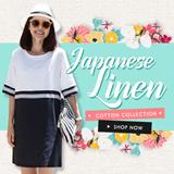 【1/7 New Design Updated 】2015 Linen Cotton Dresses