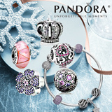 [PANDORA]♥♥christmas gift♥♥[New stock!!♥ Pandora Bracelets / Charm Series/ Silver Charm Bracelet/ Jewelry/ Fashion Accessories/ Customize your own design/ from USA[Free Shipping]